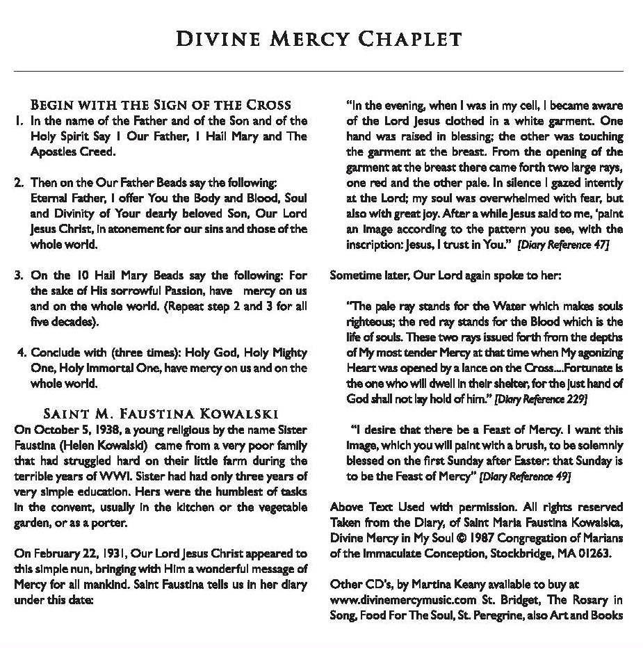 Divine mercy chaplet picture – www